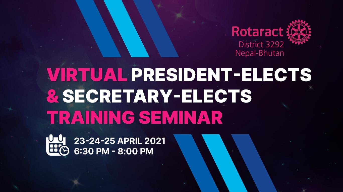 Virtual Presidents & Secretaries Meet